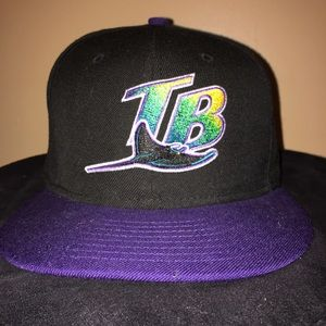 New Era Accessories - Cooperstown Edition Tampa Bay Rays New Era Fitted